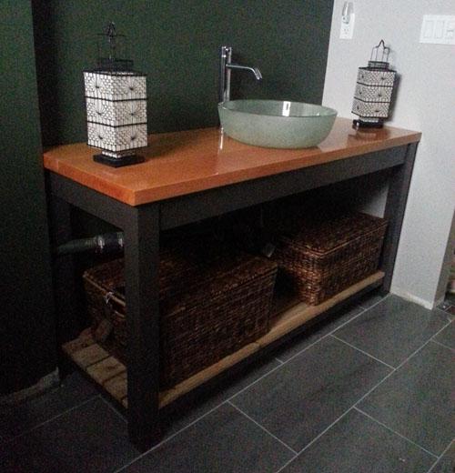 Bathroom Vanity Pulling Away From Wall